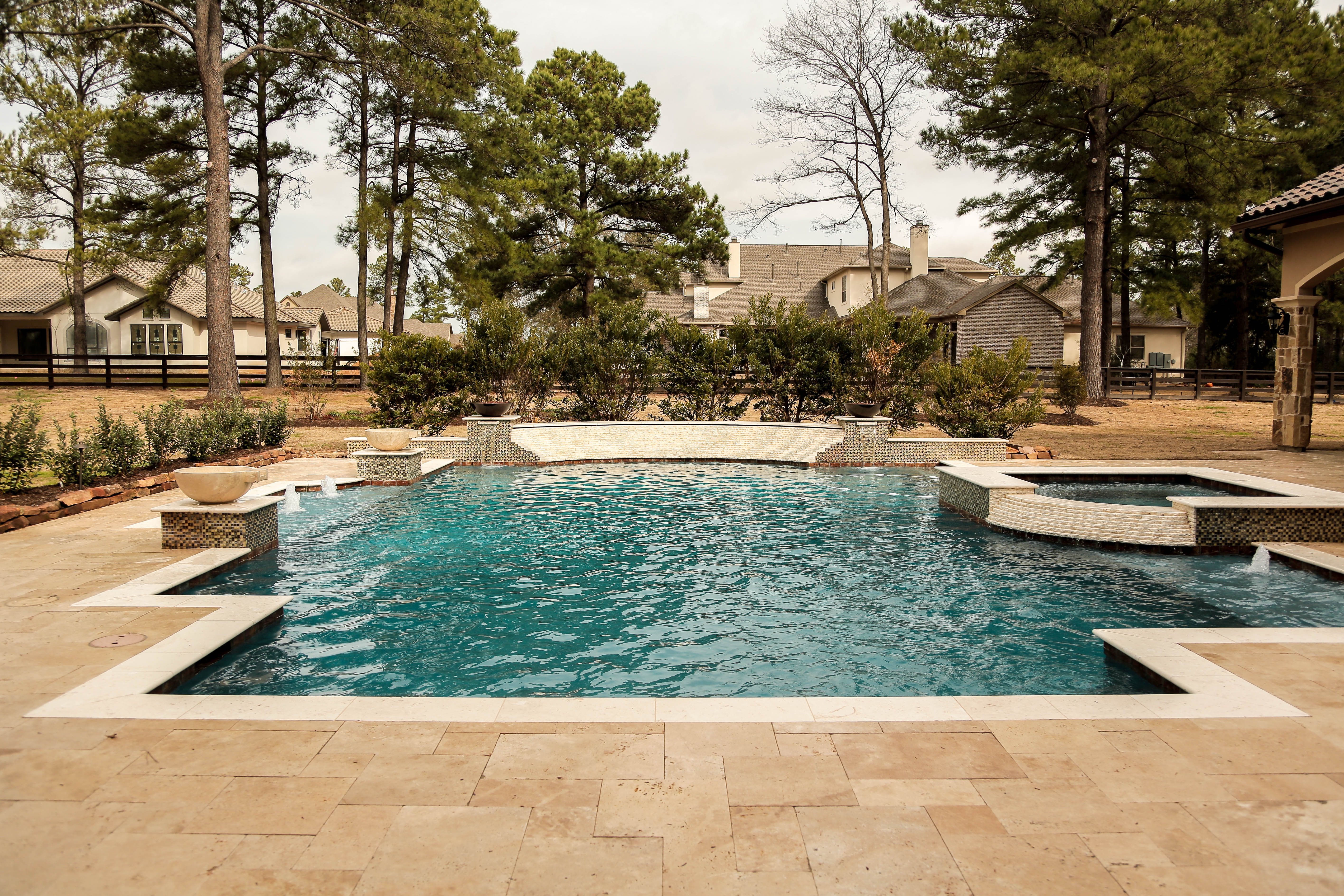 Custom Pools Outdoors Perry Pools And Spas